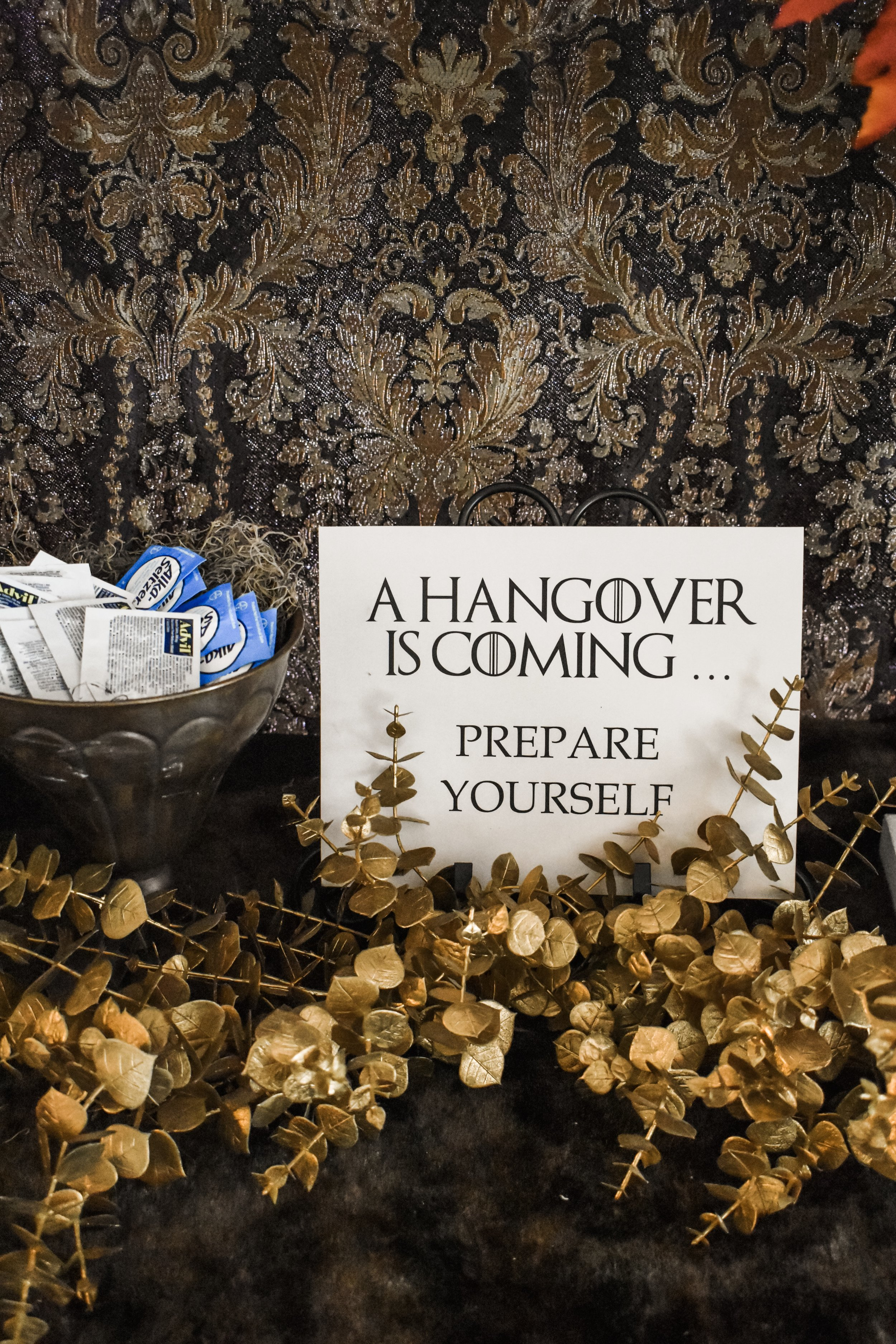 Game of Thrones Theme Party Decorations