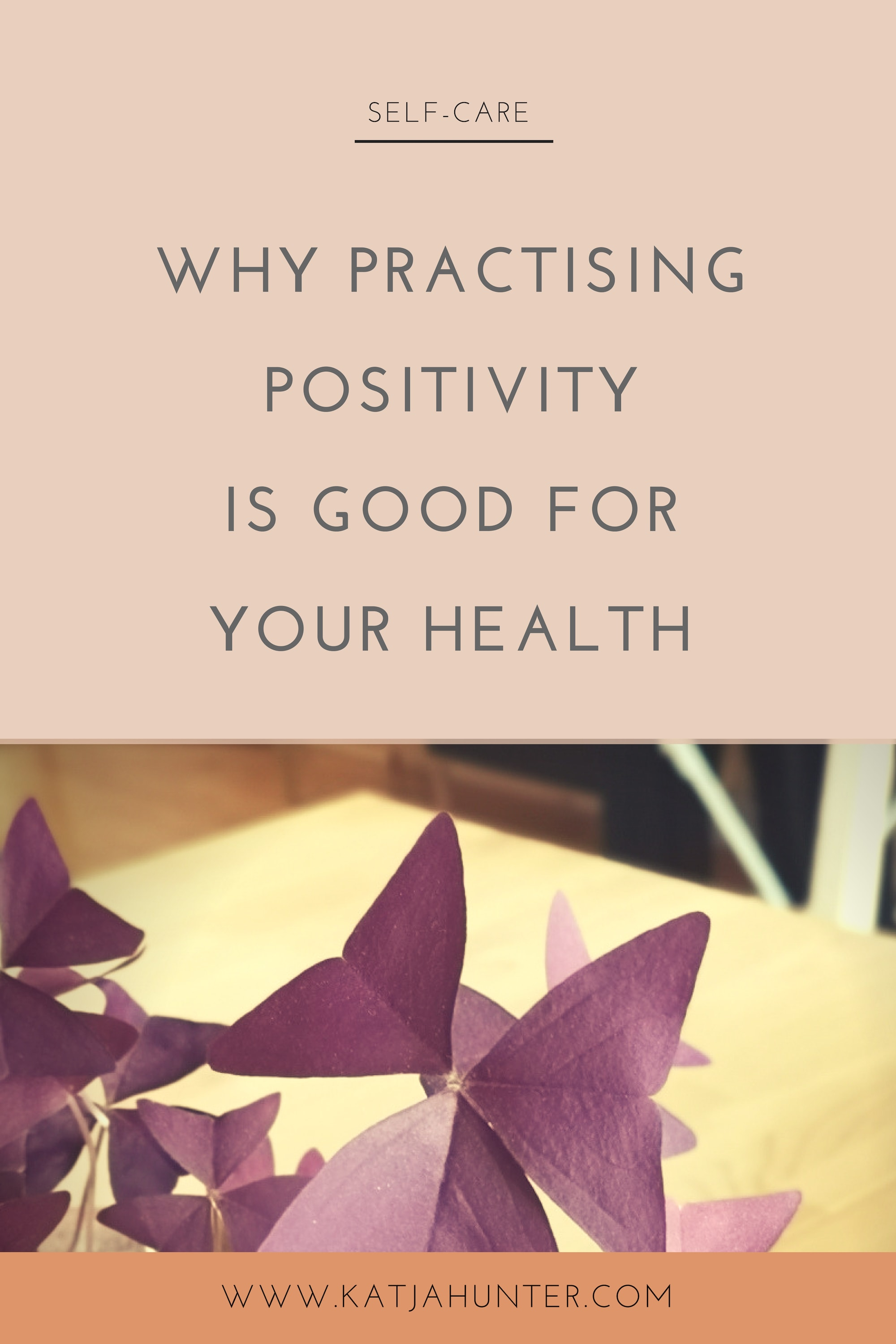 Why practising positivity is good for your health