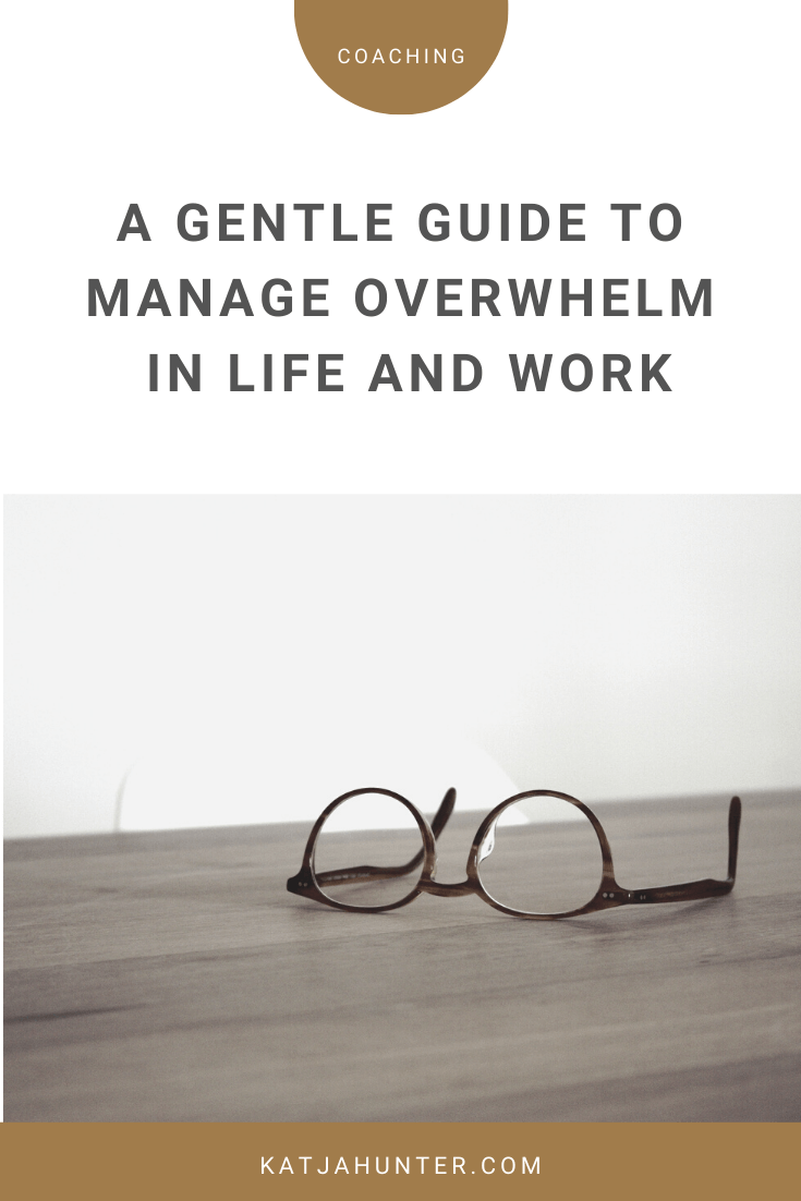 a gentle guide to overwhelm.