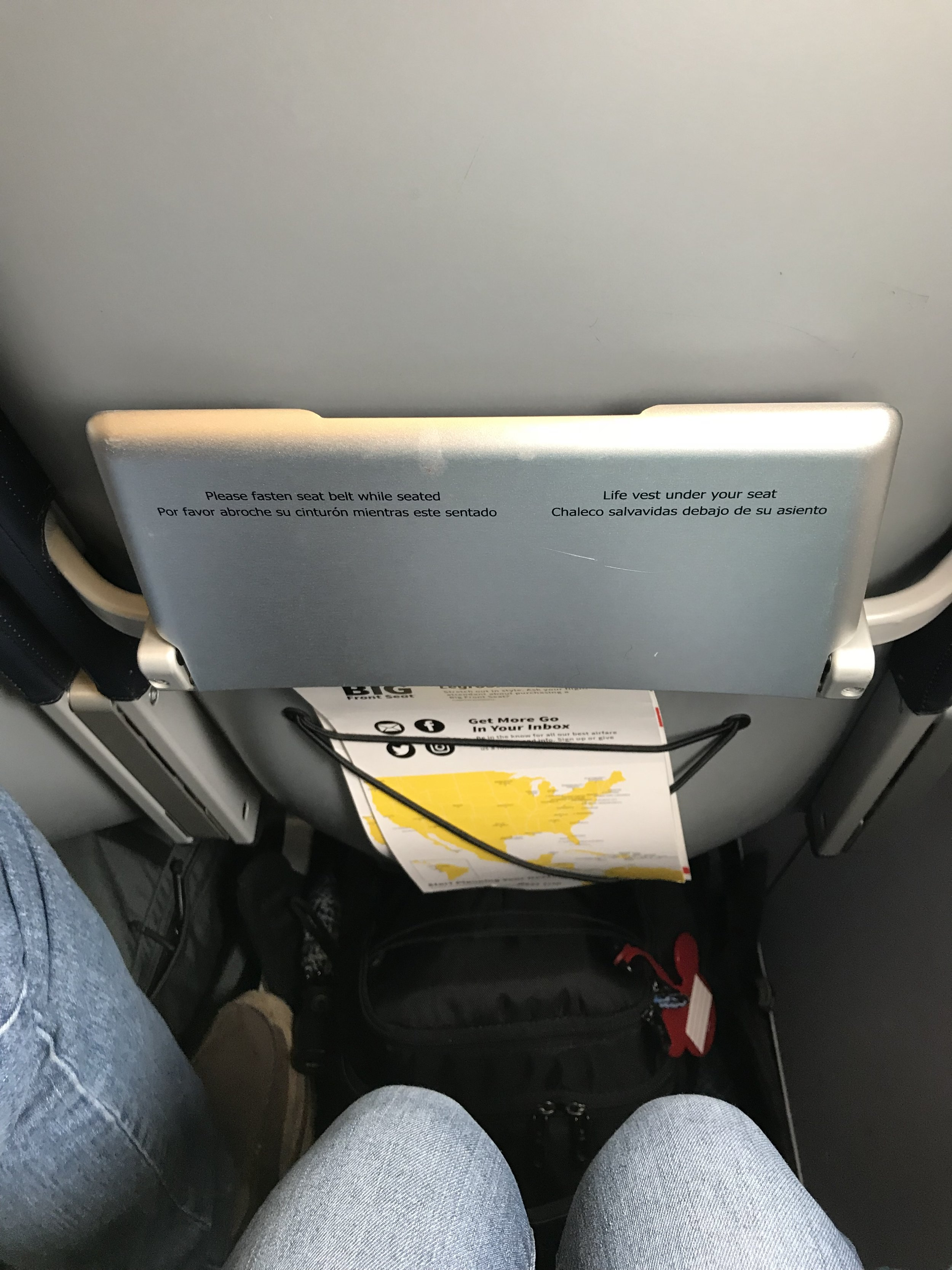 The tiniest tray table ever!