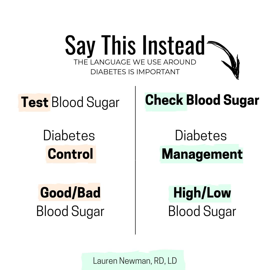 Diabetes Language