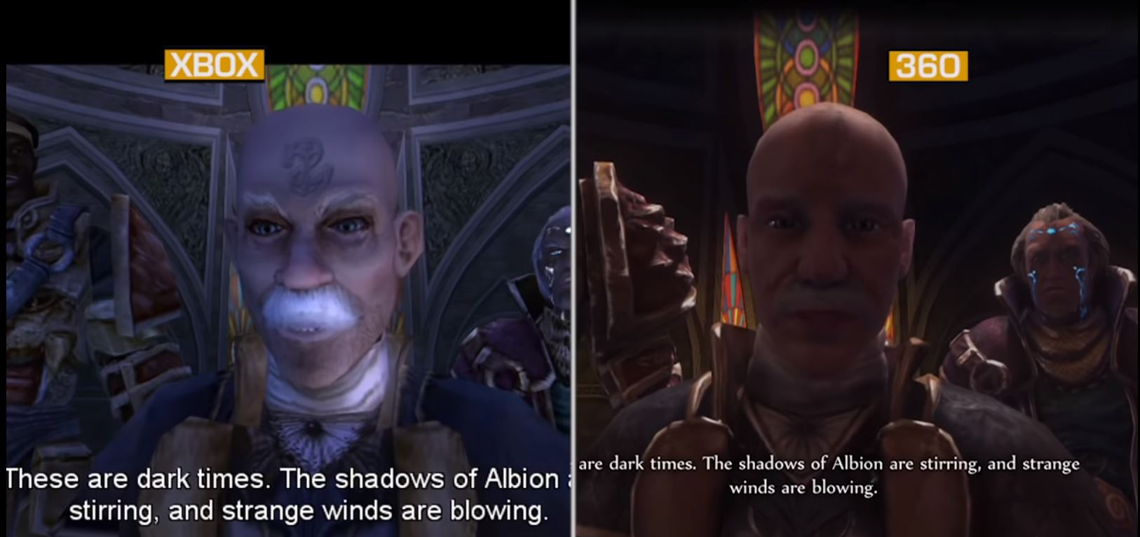 Fable (Xbox) and Fable Anniversary Edition (X360) Comparison