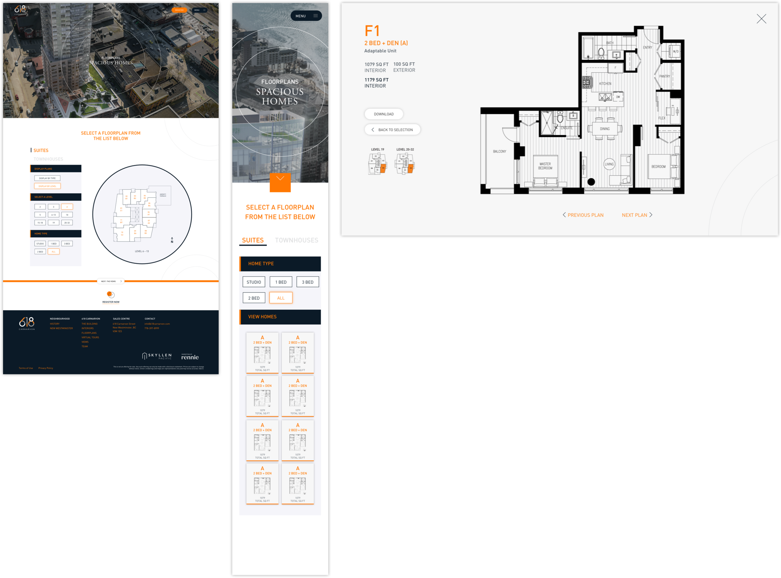 Lots of small improvements led to a better holistic experience for users trying to find a home: Plan thumbnails, consistent filters, contextual plates and in-line browsing.