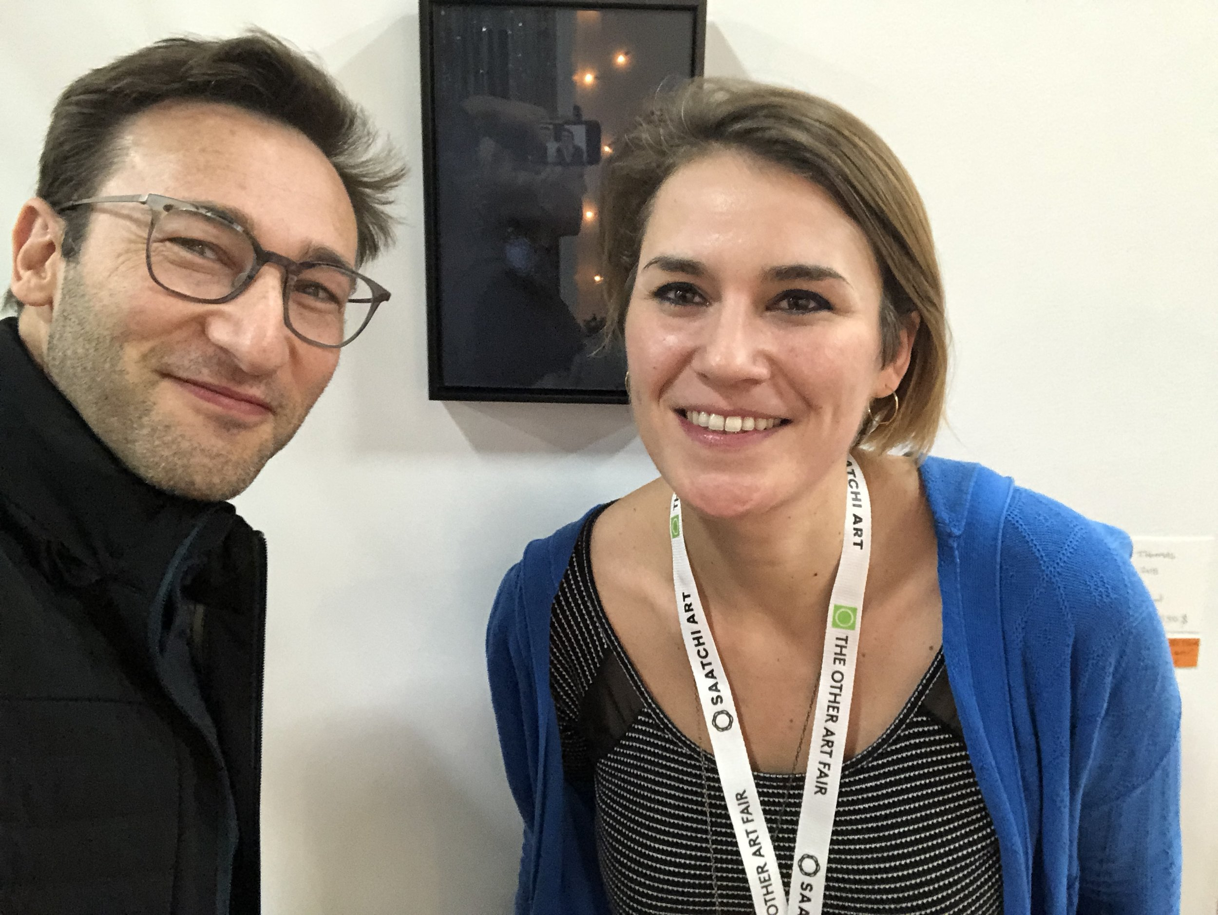 Meeting withSimon Sinek - Collector of a limited edition of Lemon, the nights