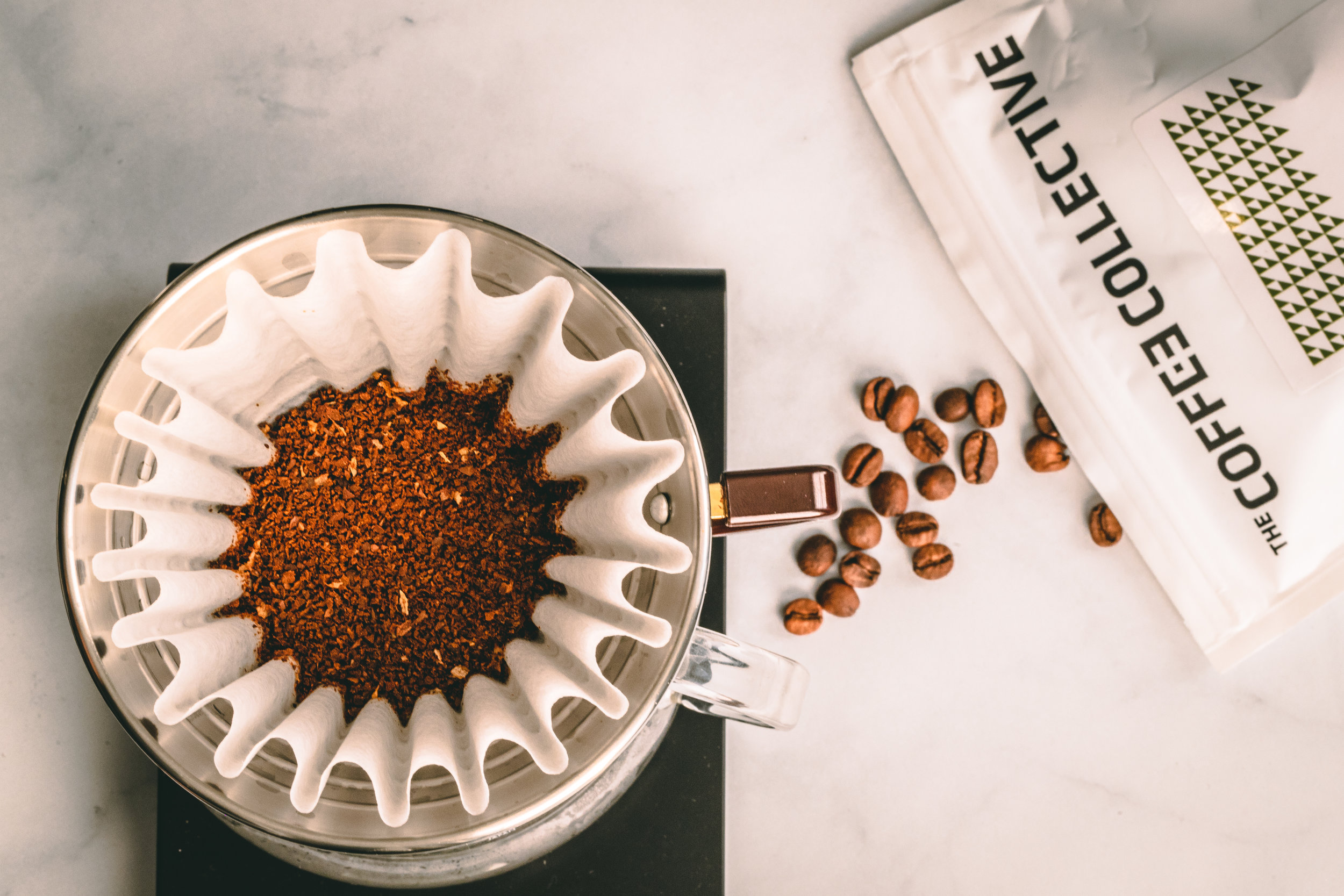 The Coffee Collective Using Kalita Wave