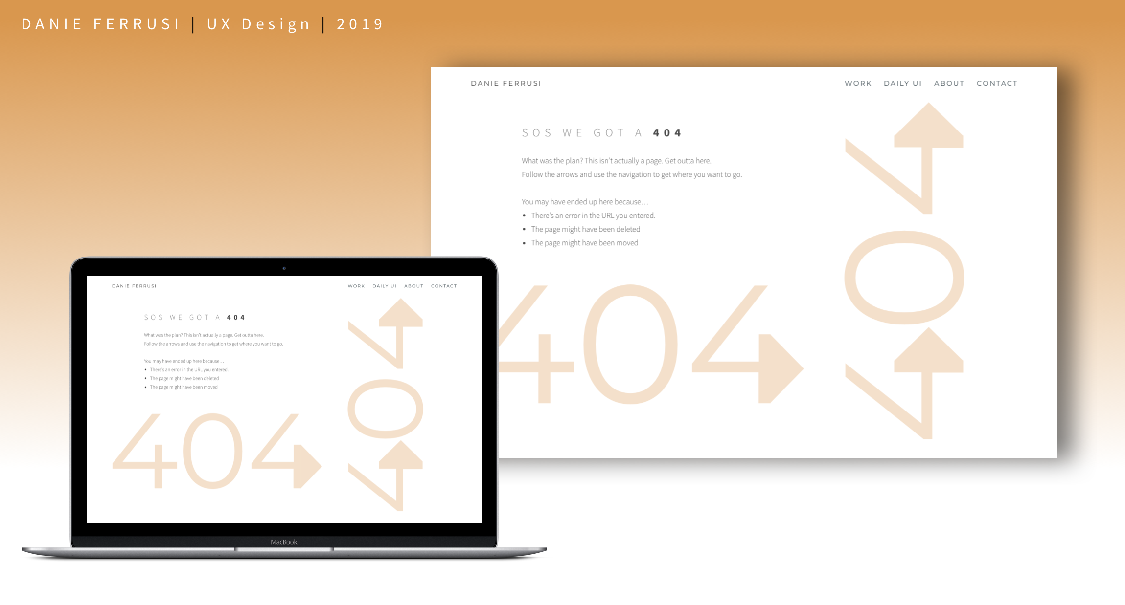Day 008 : Create a 404 page