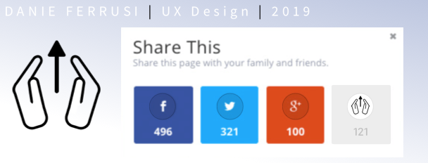 Day 010 : Create a sharing icon