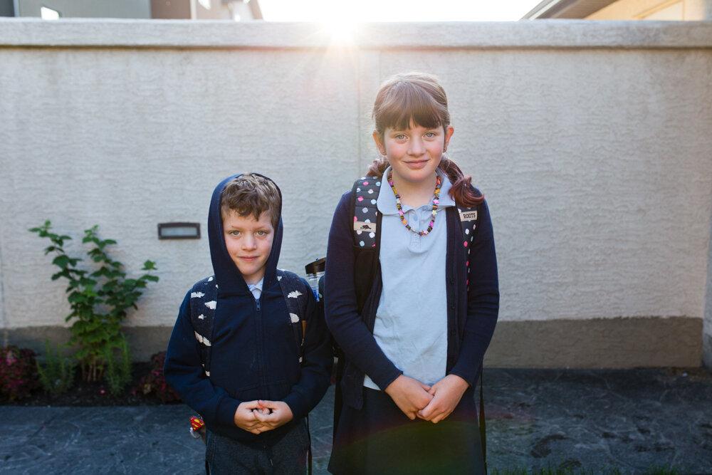 Rebel tendencies manifesting themselves in the posting of back-to-school photos in October.