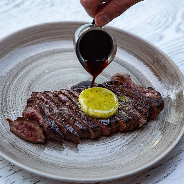 Perfect night for it // Wagyu rump steak, smoked provincial butter.. . . . . . . #sydney #sydneyeats #sydnyelocal #doublebay #easternsuburbs #littlejeandoublebay #breakfast #lunch #dinner #seafood #dinner #sydneyfood #afternoon