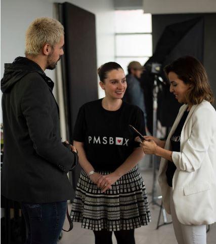 Guest Blogger, Desiree Hostettler (center)