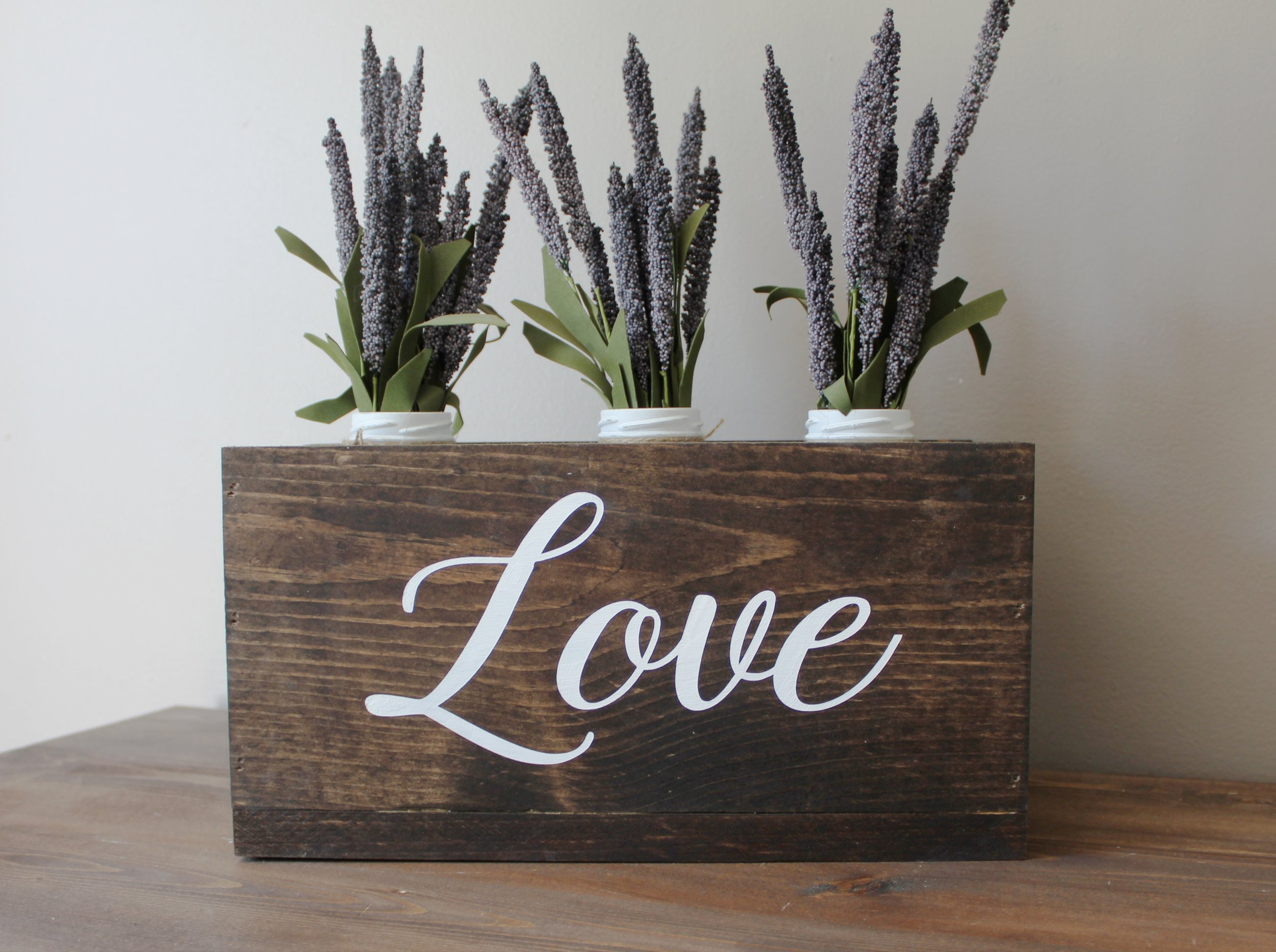 This custom wood box is perfect for your home, wedding decor, or a personal wedding gift! We would love to create one for you!
