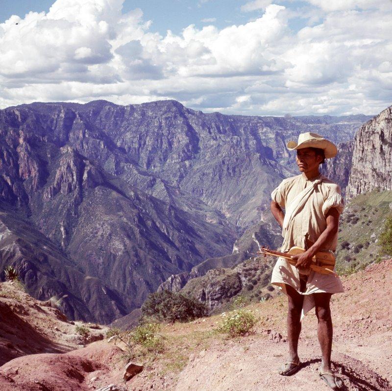 La Bufa Canyon Mexico by Don Burgess