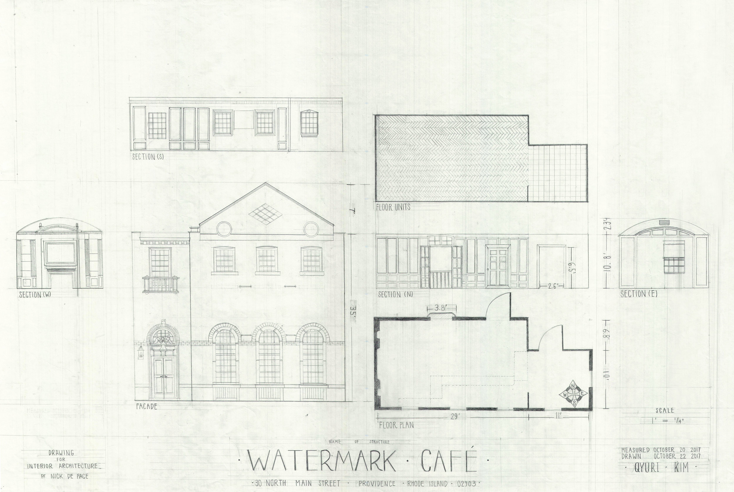 Architectural Drawing -