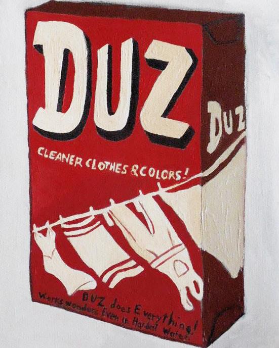 Duz, Oil on Canvas, 10x8, 2016, ©