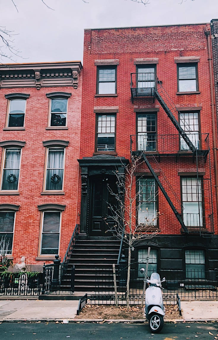 Old homes in Greenpoint, Brooklyn