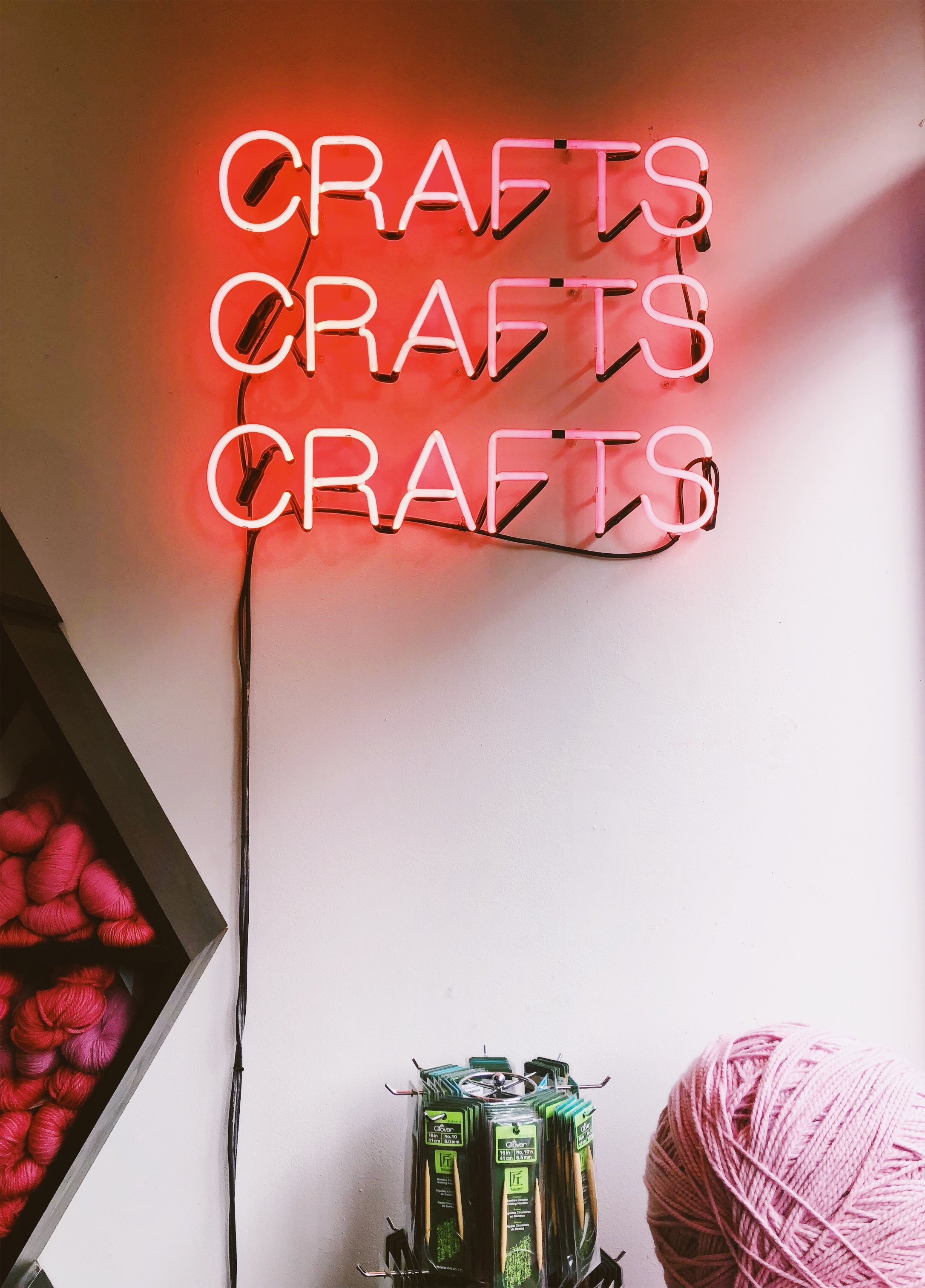 A snapshot of the interior of Brooklyn Craft Company in Greenpoint, Brooklyn.