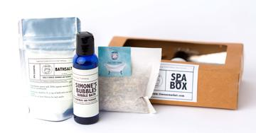 Timea's Market  out of Canada employs survivors of sex trafficking to make natural spa and personal care products. They also support human trafficking initiatives in the US. I think a full spa box of their self care products would be a perfect gift.