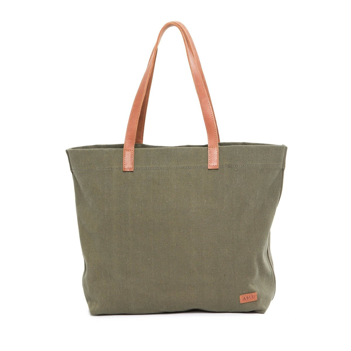 Made in Ethiopia, the Yodit Canvas tote has an olive green color and soft canvas texture. It's just one of the many useful products  Rethreaded  has. Rethreaded began as a partnership with City Rescue Mission of Jacksonville, Florida to hire women who had been incarcerated or trafficked and provide steady employment for them.
