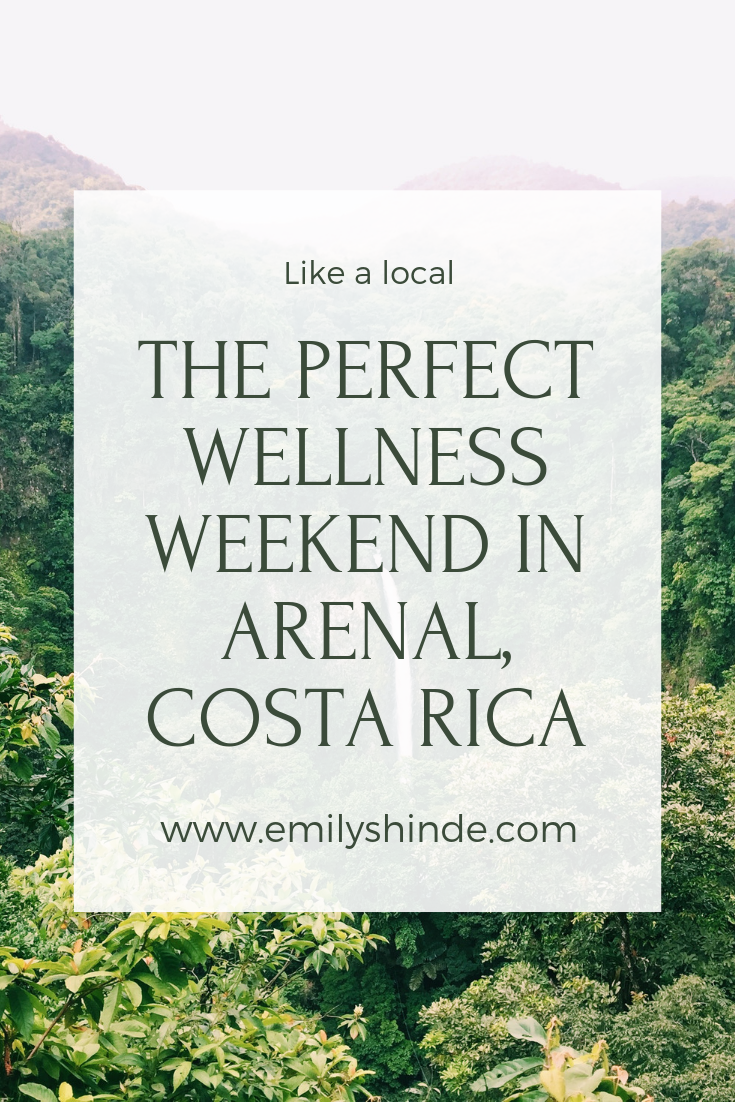 Pinterest Arenal Costa Rica Guide