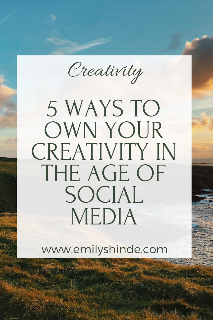10 ways to own your creativity