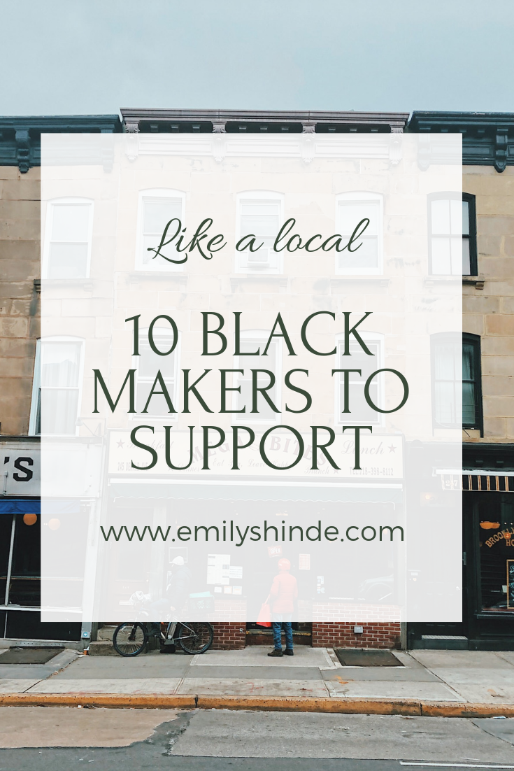 10 black makers to support