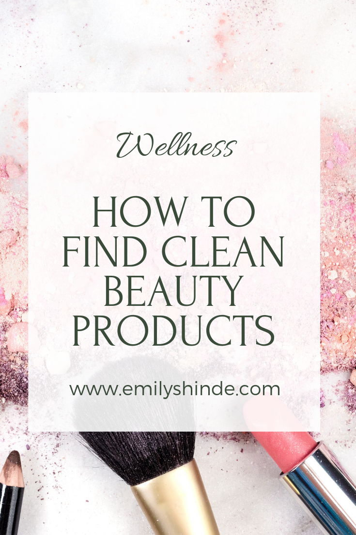 how to find clean beauty products