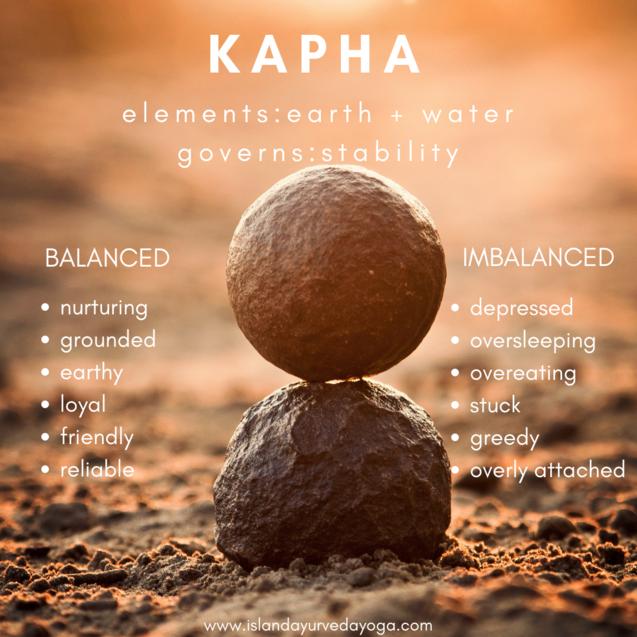 Kapha Dosha — island ayurveda & yoga