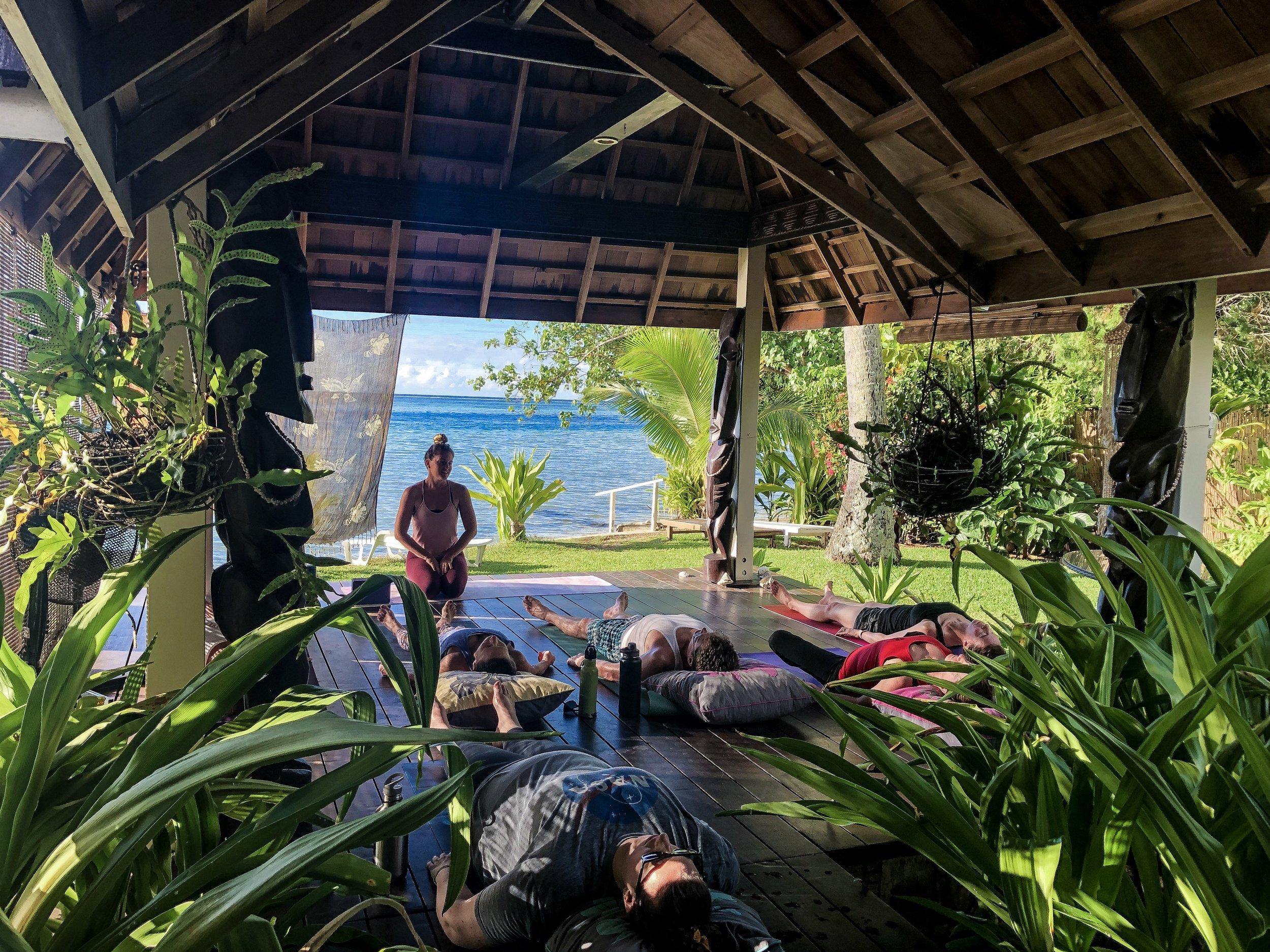 Ayurveda & Yoga in French Polynesia -