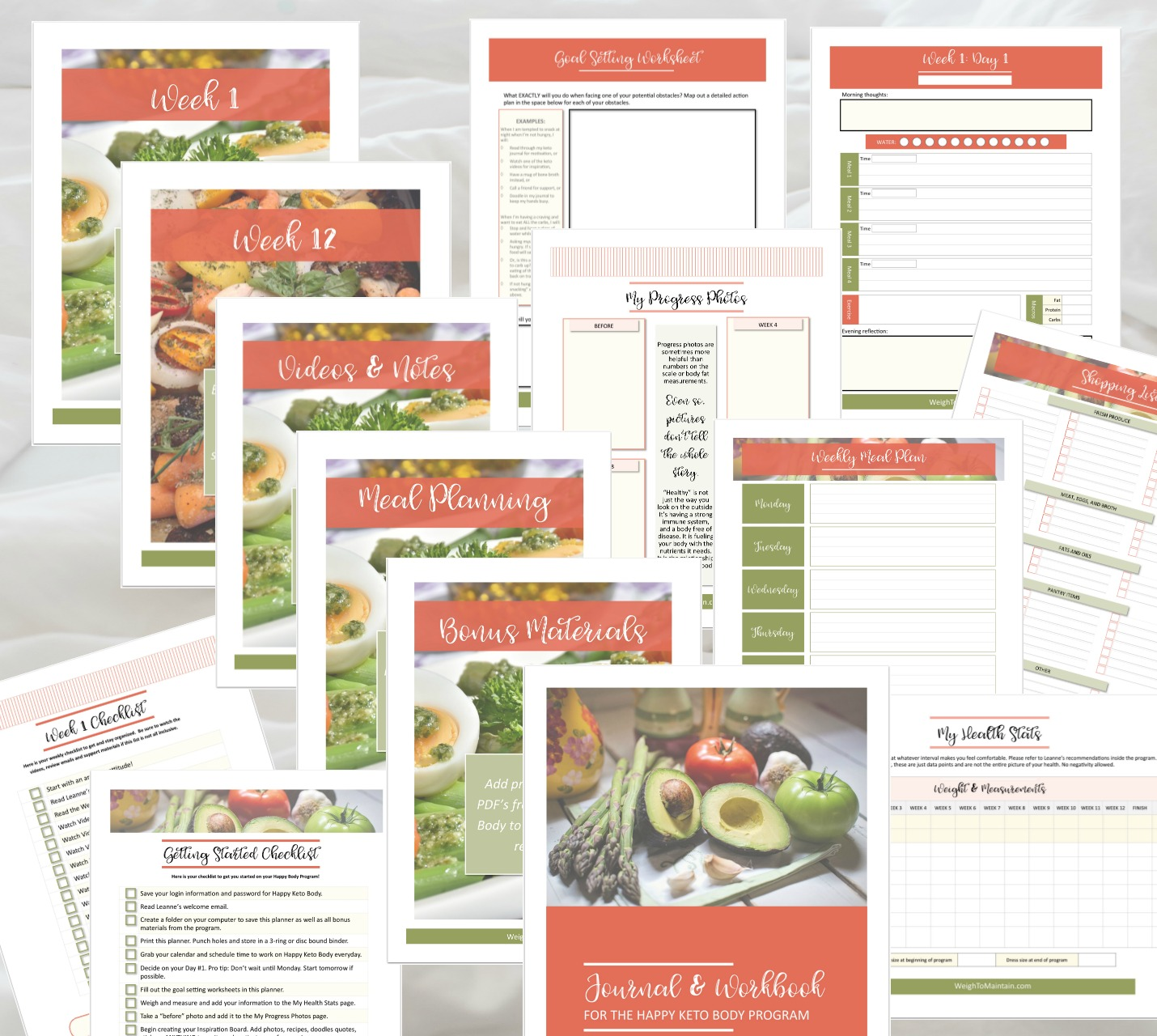 Free Happy Keto Body Bonus Planner… - Purchase Happy Keto Body through any link on this page and I'll send you this 170 page printable planner. Just email me your receipt (dated January 10-17, 2019) to me, Jacqui@PlanAHealthyLife.com!