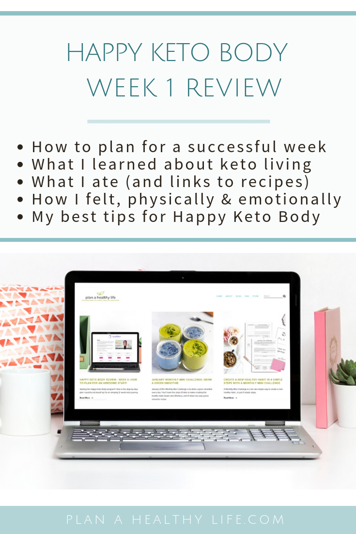 happy keto body review week 1 pinterest