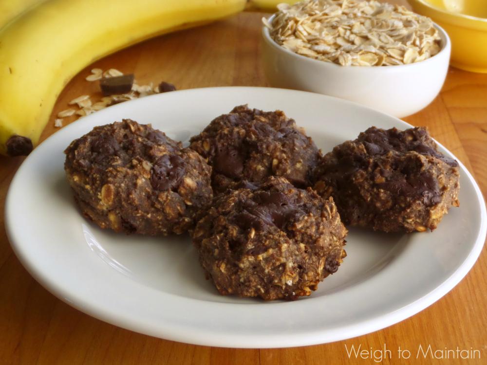 gluten free breakfast cookies plate