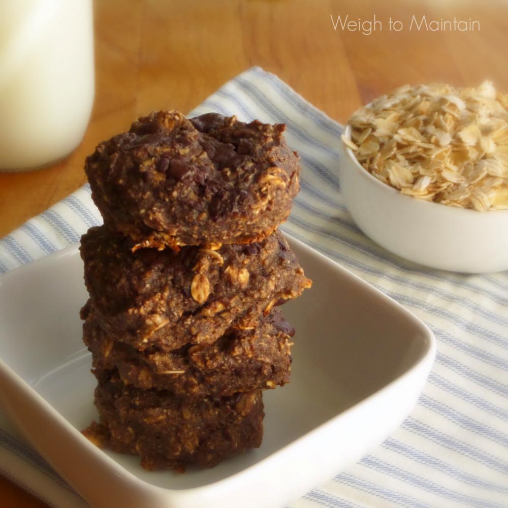 gluten free breakfast cookies double chocolate chunk