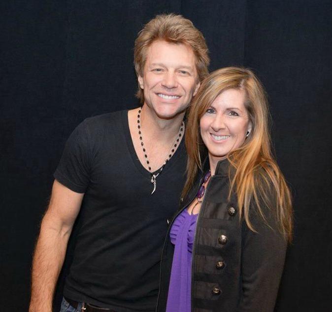 Jon Bon Jovi and Jacqui Grimes