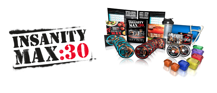 insanity max 30 challenge pack at weigh to maintain