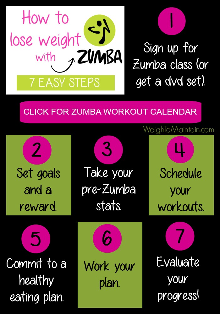 How to lose weight with Zumba Pinterest pin