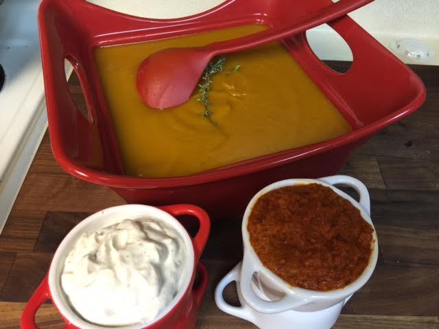 butternut squash soup by dorothy l