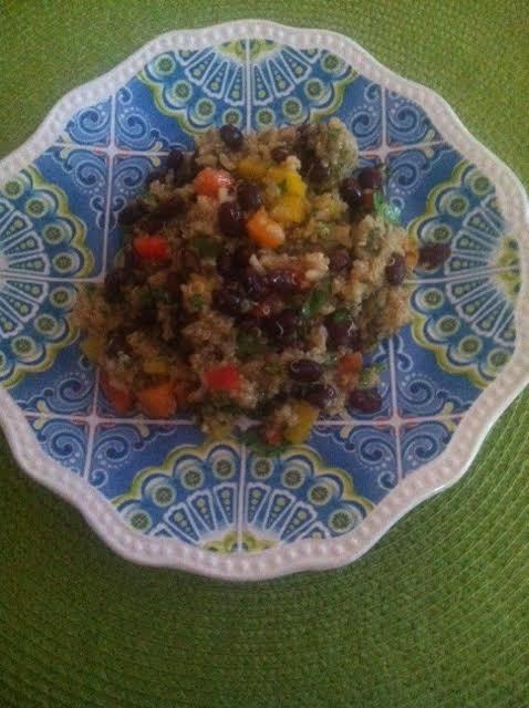 quinoa salad by carmel g