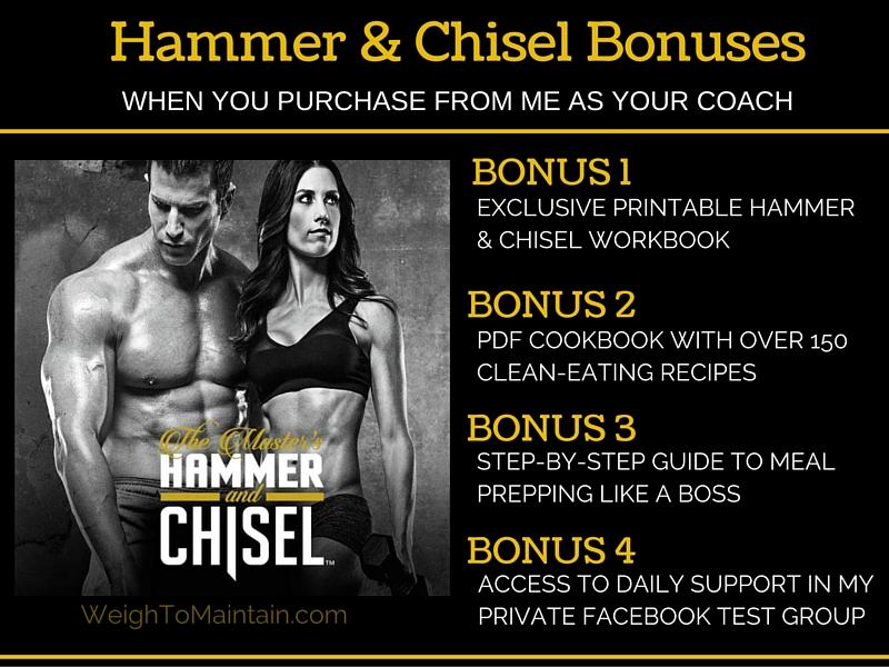 hammer chisel bonuses