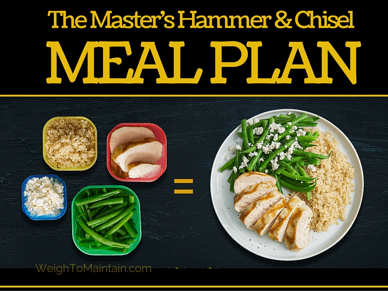 hammer and chisel MEAL PLAN featured image