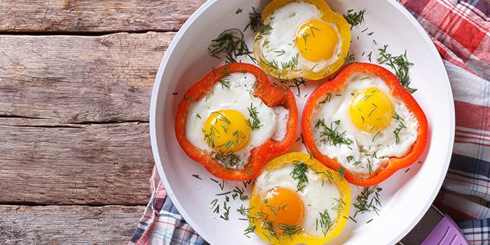 eggs in pepper rings recipe core de force 21 day fix