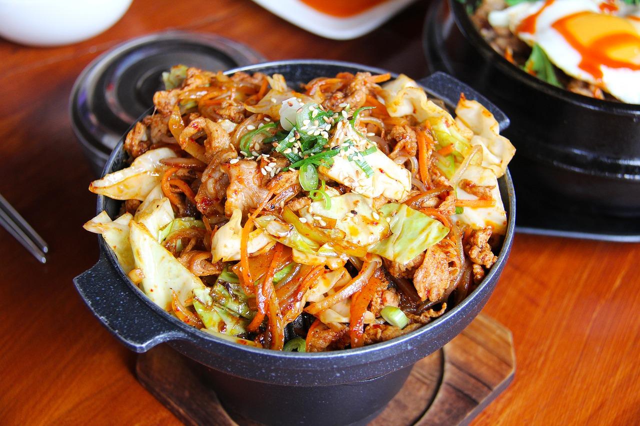 Korean bowl - happy keto body review week 8. Plan a Healthy Life