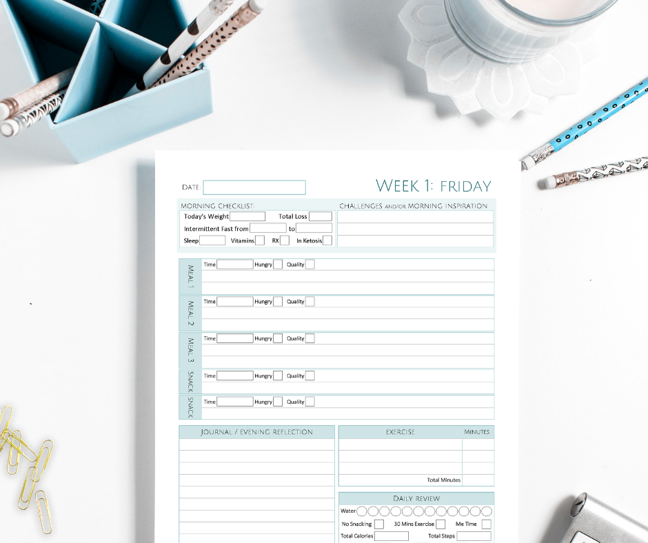Use can use the printable Diet & Fitness Calendar to track your Collagen supplements.
