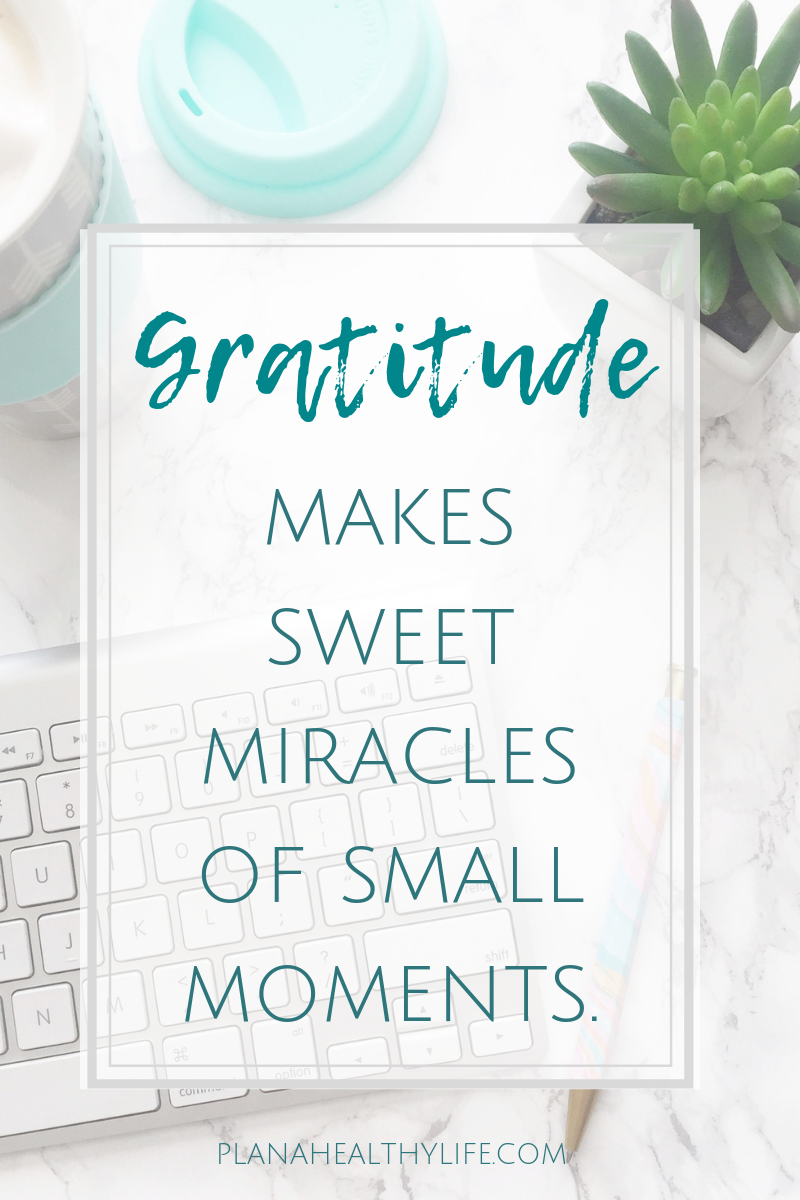 free gratitude printables at Plan a Healthy Life
