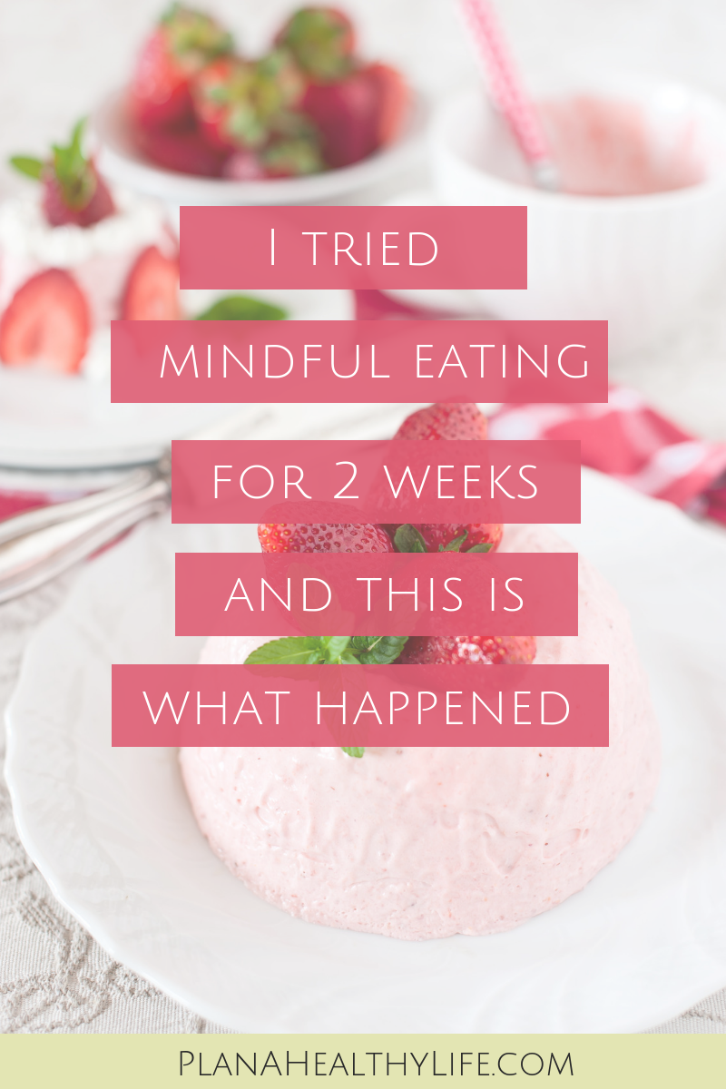 What happens if you throw out all the diet rules and just eat according to your body's signals of hunger and fullness? Find out in this blog post: I Tried Mindful Eating For Two Weeks And This Is What Happened.