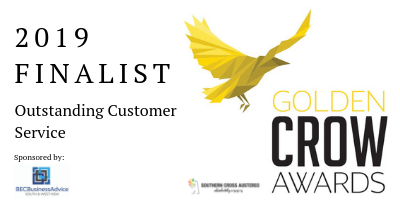 2019 Crow Awards Finalist - Outstanding Customer Service