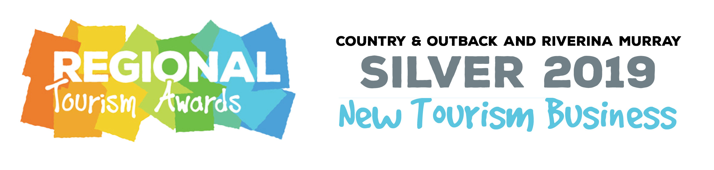 2019 Regional Tourism Awards - Silver - New Tourism Business