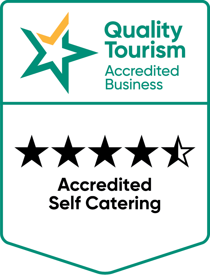 4.5 Star accredited self-catering accommodation