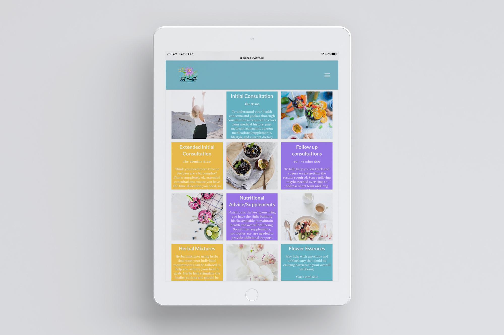 JSE Health iPad Services 2 Mock Up Plush Design Studio Coffs Harbour.jpg