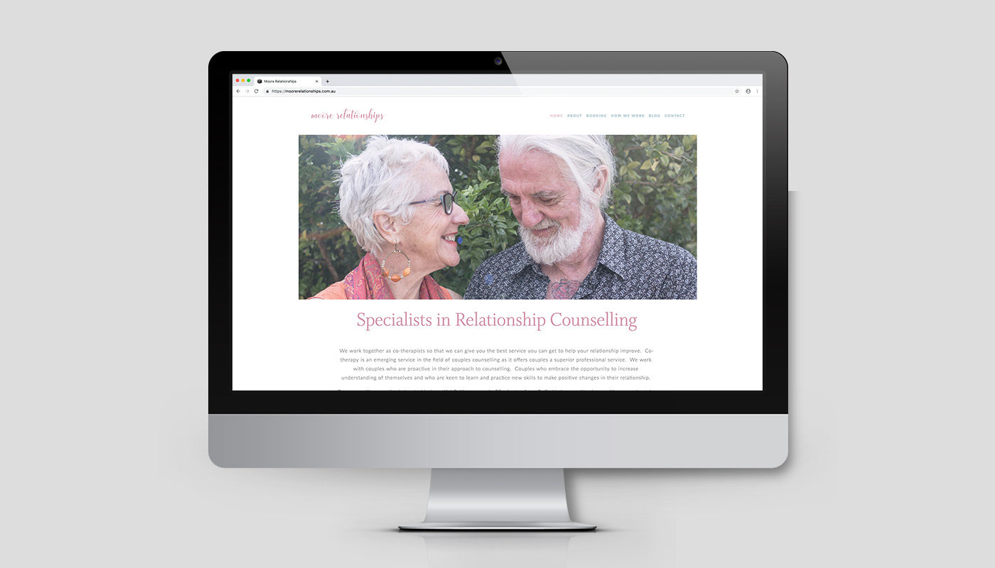 Moore Relationships iMac mock up Plush Design Studio Coffs Harbour.jpg