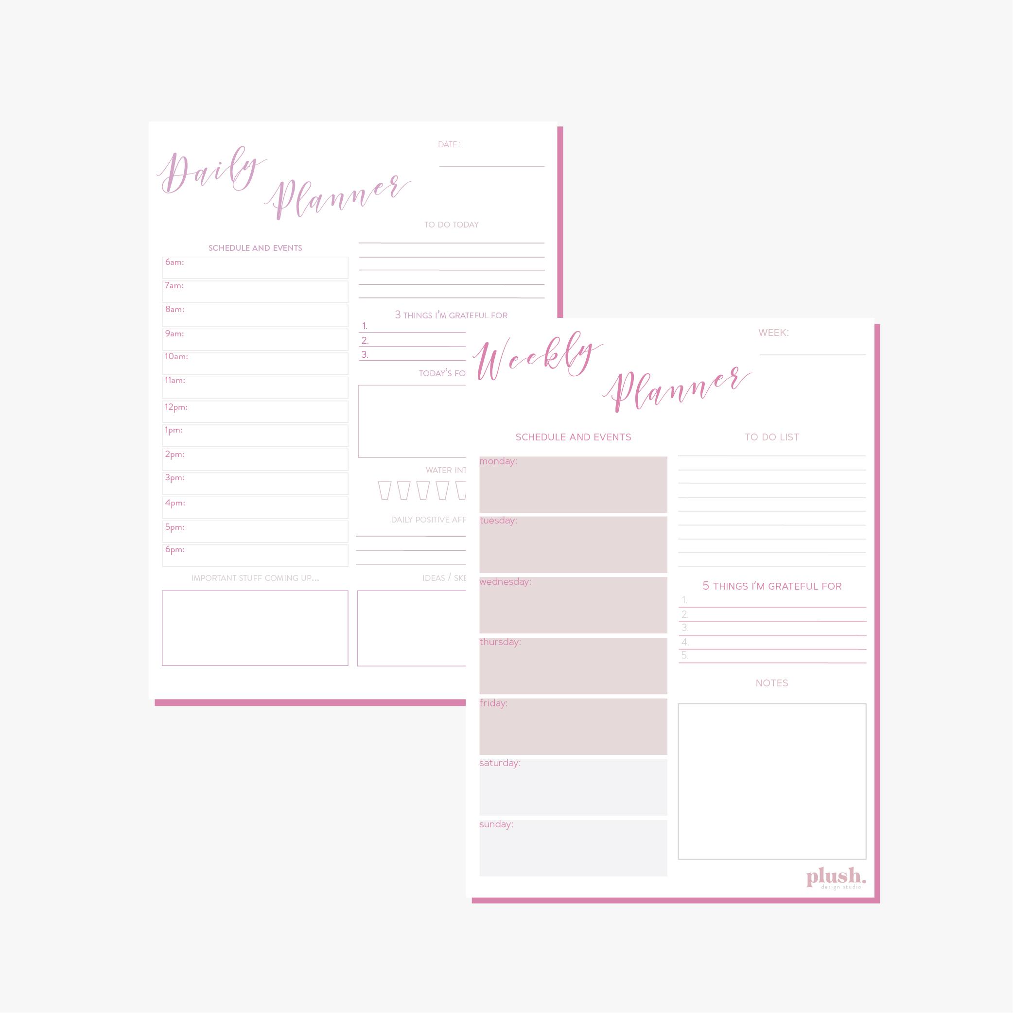 Printable PDF Planner by Plush Design Studio Coffs Harbour.jpg